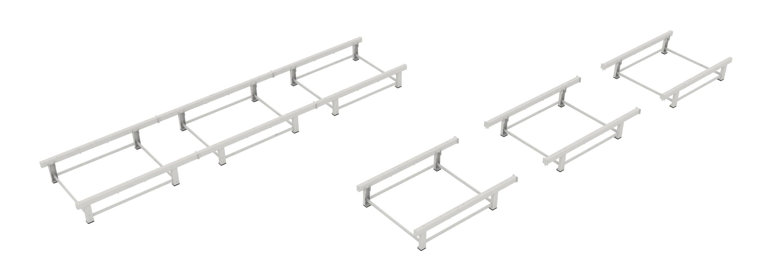 Soukup FRAMER Modular end modules plus center