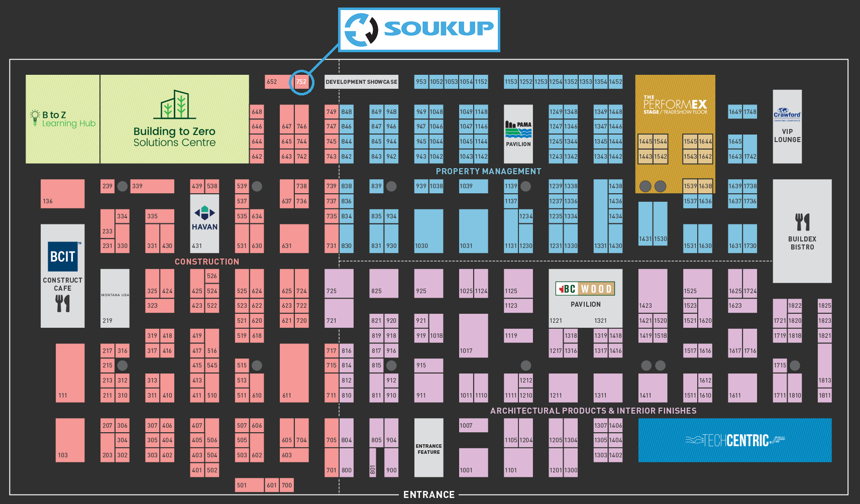 Soukup America at BUILDEX 2020