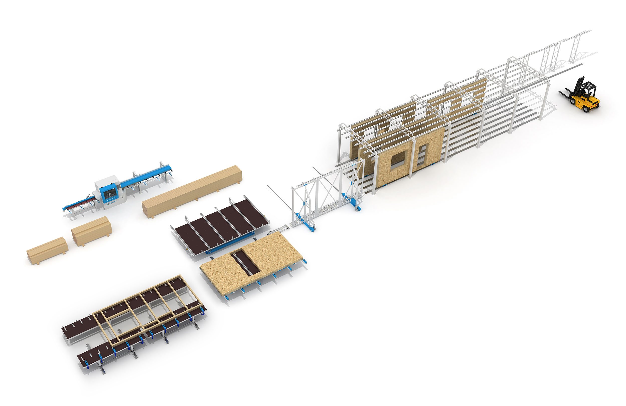 Complete Off Site Construction Building Production Line by Soukup America