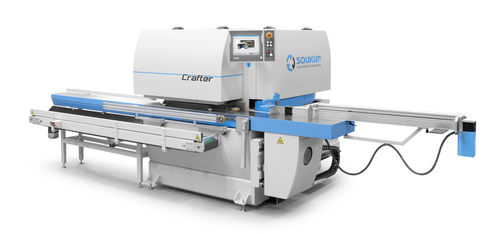 CRAFTER CNC Profiling & Tenoning Center for Wood Windows and Doors