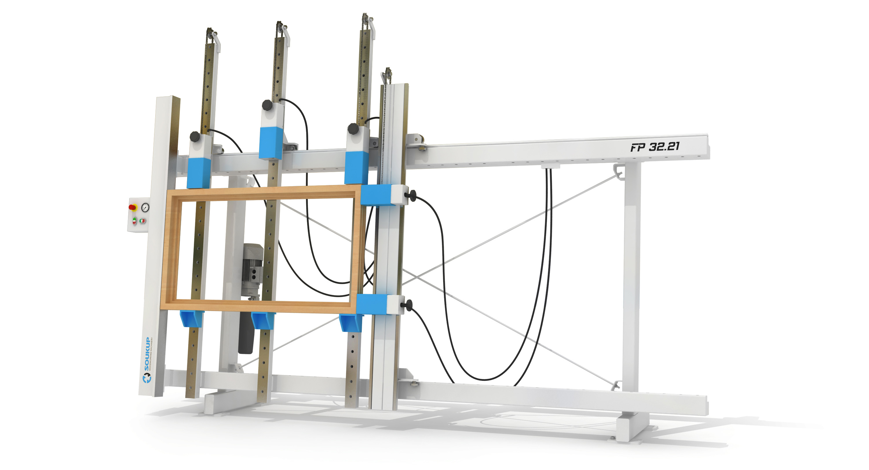 FP Series Hydraulic Frame Press for Window and Door Clamping