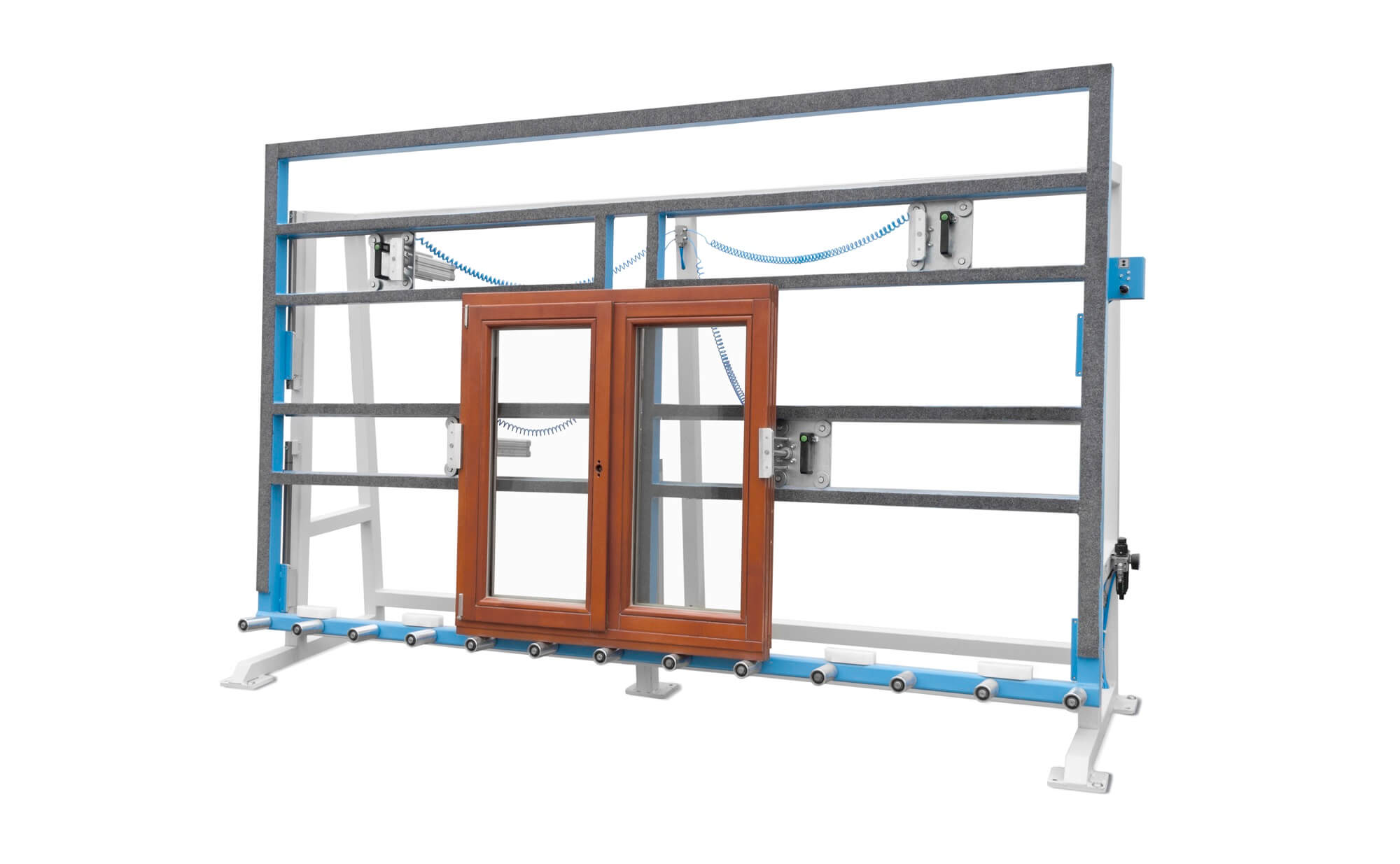 Soukup America GW 2500 Mounting and Glazing Stand