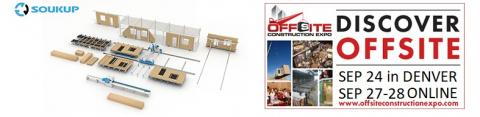 Soukup America at Offiste Construction Expo OSCE by Modular Building Institute Sep 2021