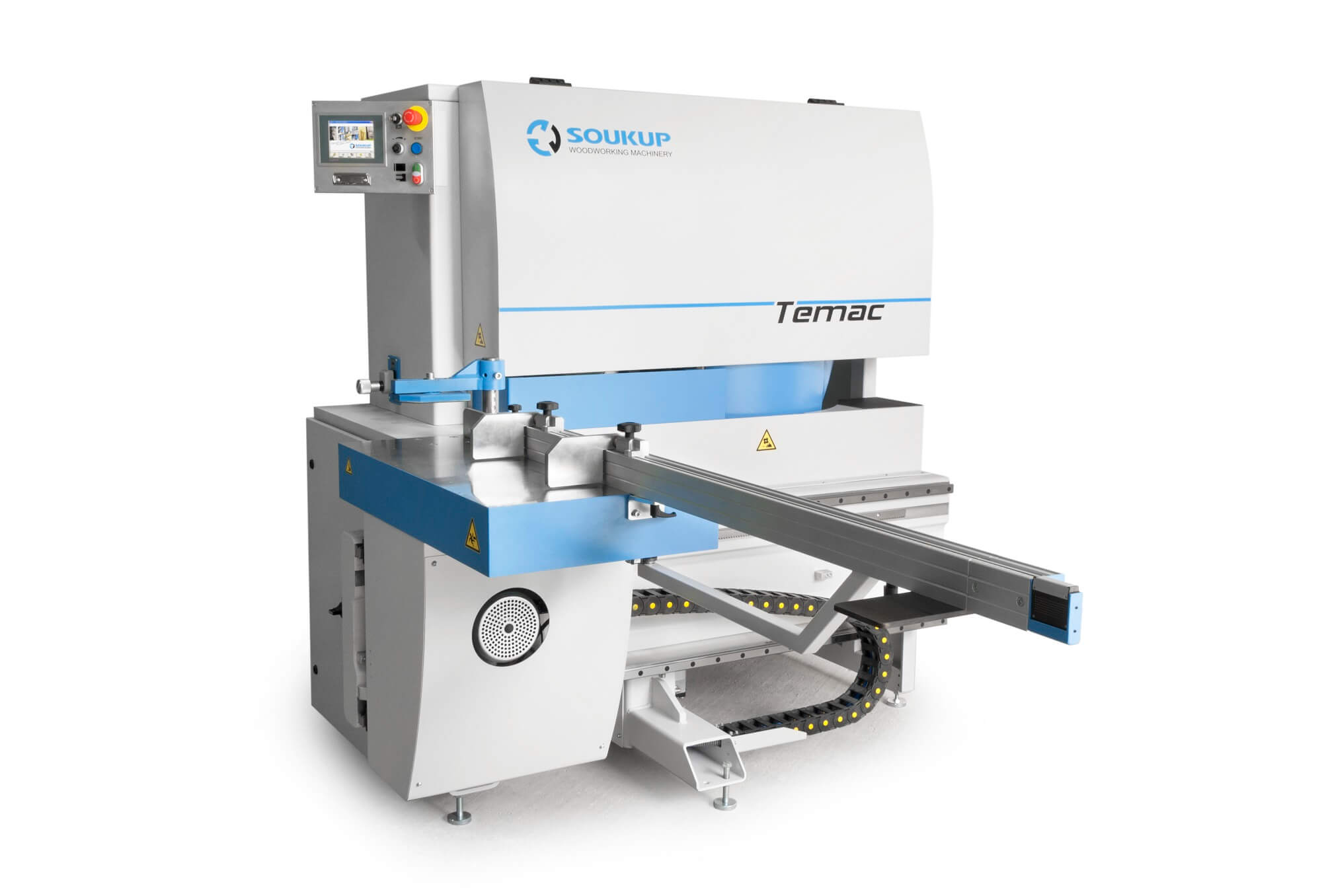 Temac M CNC Tenoner for Wood Windows and Doors