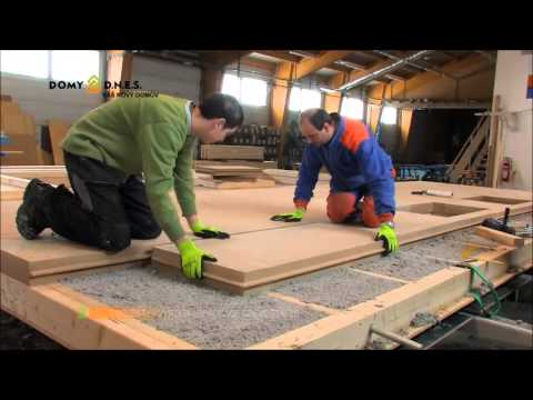 Closed Wall Panel Production with Exterior Insulation