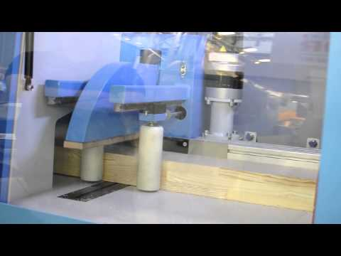 CROSSLINE Automatic Crosscut Saw Demonstration