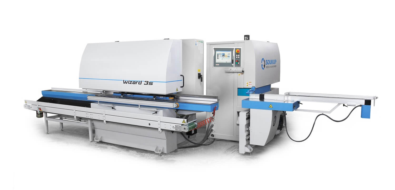 WIZARD 3S High Throughput CNC Profiling & Tenoning Center for Windows and Doors