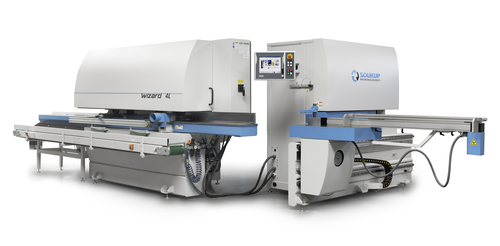 WIZARD High Throughput CNC Profiling & Tenoning Center for Windows and Doors